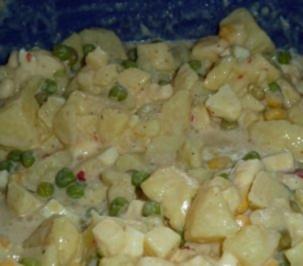 Kartoffel-Käse-Salat - Rezept