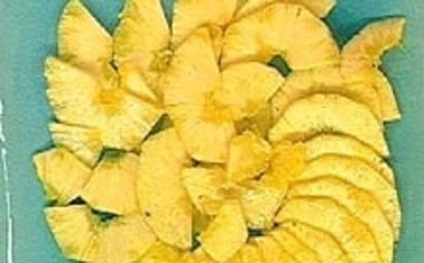Ananas-Carpaccio mit Bounty Creme - Rezept - Bild Nr. 16