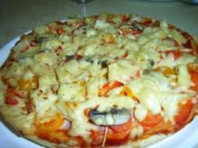 """Pizza """"Hawaii Deluxe"""" - Rezept"""