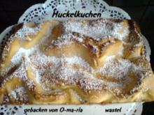 Huckelkuchen - Rezept