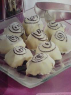 Himbeer-Schoko-Küsse - Rezept