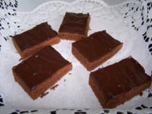Schoko-Brownies - Rezept