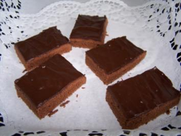 Schoko-Brownies - Rezept