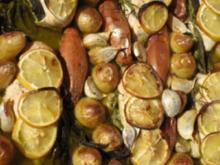 Hähnchen mit Knoblauch und Zitrone - Rezept