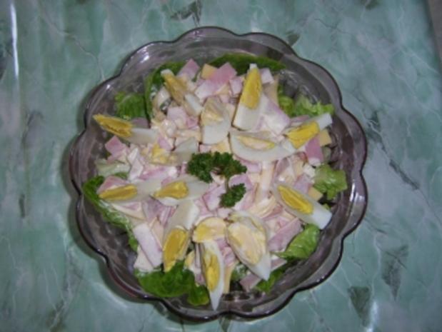 Schinken-Ei-Salat - Rezept