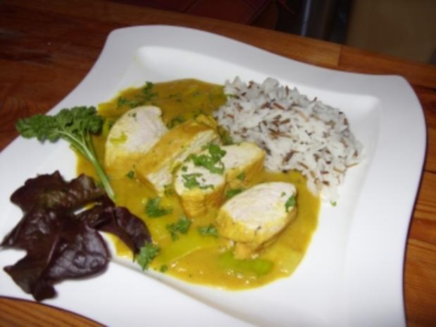 Hähnchen-Lauch-Curry - Rezept