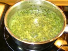 Brennessel mit Creme Fraiche - Rezept