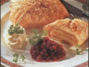 Camembert-Preiselbeer-Ecken - Rezept