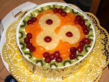 Sahne-Quark Früchte Torte - Rezept