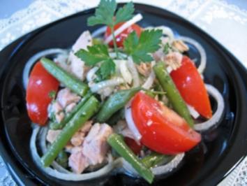 Bohnensalat mit Thunfisch - Rezept - Bild Nr. 2