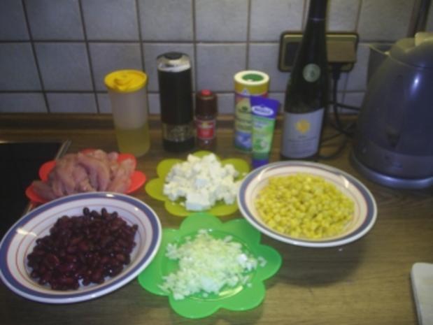 Geflügel - Mexikanische Hähnchen-Mais-Pfanne - Rezept - Bild Nr. 2