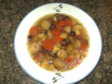 Rosenkohlsuppe mit Wurst - Rezept