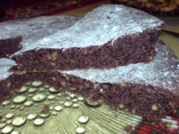 Schokoladen-Haselnuss-Kuchen - Rezept