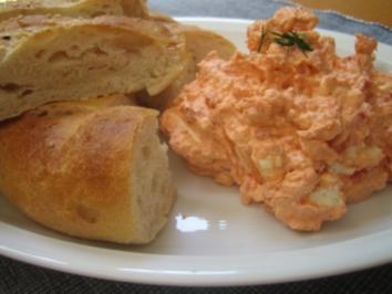 Paprika-Feta-Knoblauch Dip - Rezept
