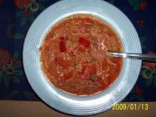 Paprika-Reistopf - Rezept