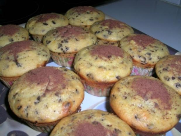 Orangen-Schoko-Muffins - Rezept