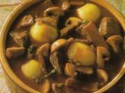 Rindfleisch in Rotwein - Rezept