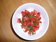 Erdbeer-Joghurt mit Minze - Rezept
