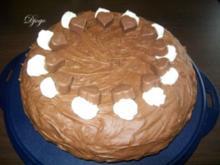 Milka - Herz - Torte - Rezept
