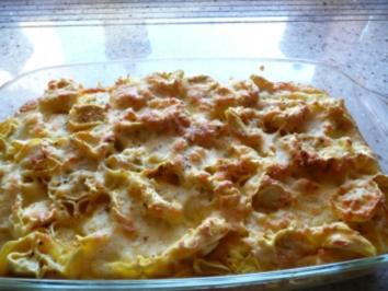Tortellini Überbacken - Rezept