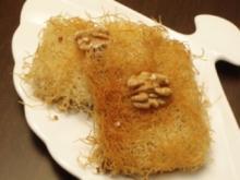 Kadayif (türkisches Dessert) - Rezept