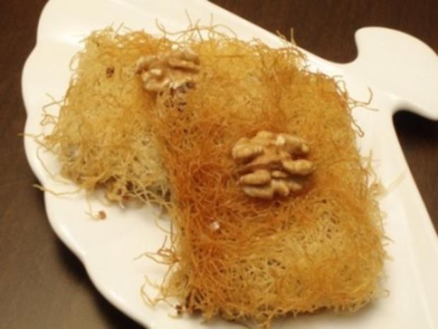 Kadayif Turkisches Dessert Rezept Mit Bild Kochbar De