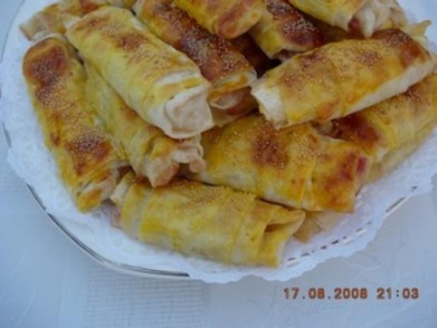 türkische Spezialität: Pacanga Böregi - Rezept