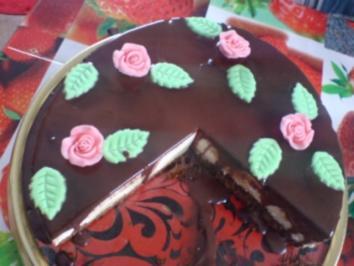 Schokoladen-Bananen-Torte - Rezept