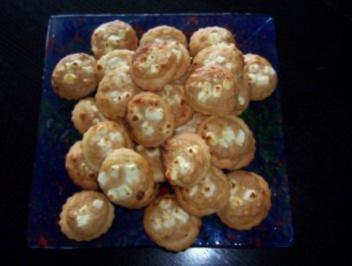 Zwiebelkuchen-Häppchen - Rezept