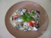 Aubergine in Joghurt - Rezept