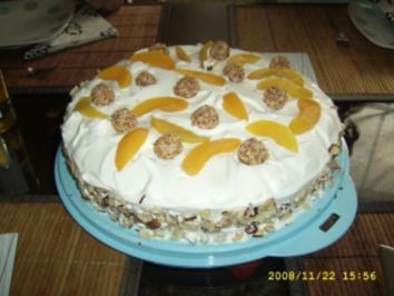 Giotto - Pfirsich -Torte - Rezept