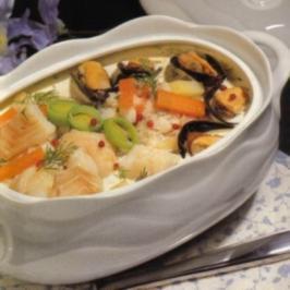 Fischsuppe mit Miesmuscheln - Rezept