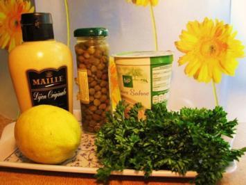 Fischfilet in Kapern-Senf-Sauce - Rezept