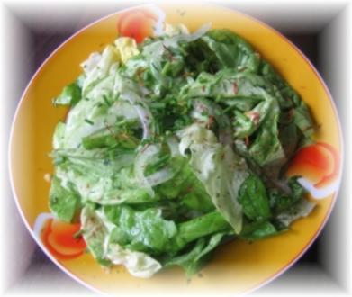 Kopfsalat süß - Rezept