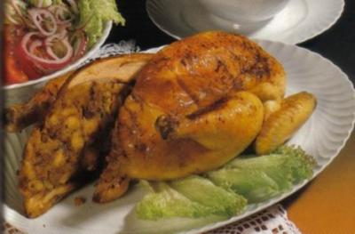 Rezept: Gefülltes Huhn