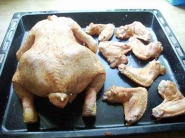 Gefülltes Huhn - Rezept