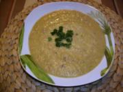 Feine Kartoffelsuppe mit Kochschinkenwürfel - Rezept