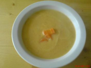 Karotten Ingwersuppe - Rezept