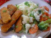 Fischstäbchen mit Bauerngemüse - Rezept