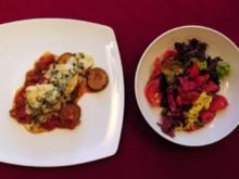 Rotbarschfilet auf Zucchinibett in Dillsoße (Ramona Leiß) - Rezept