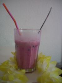 Rezept: Himbeer-Shake :-)