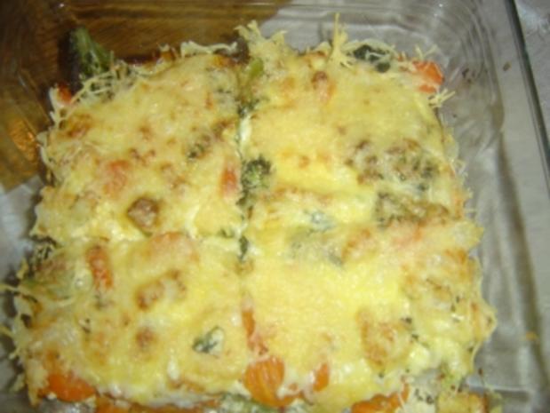 Gemüse - Auflauf (gluten frei) - Rezept