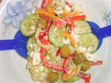 Bauernsalat griechisch - Rezept