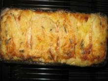 Spinat-Hack Lasagne mit Blauschimmel - Rezept