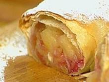 Apfel-Brombeer-Strudel - Rezept