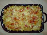 Nudelauflauf mit Tomatenfisch - Rezept