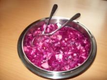 Rotkohlsalat - Rezept