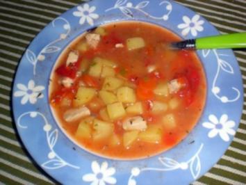 Gemüse-Hähnchen-Topf - Rezept