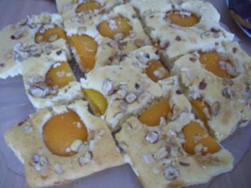 Aprikosenkuchen - Rezept