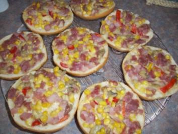 Rezept: Pizzabrötchen- Aufstrich